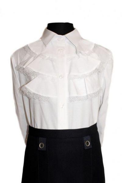 850a162ad0e Школьная белая блузка КЛАСС